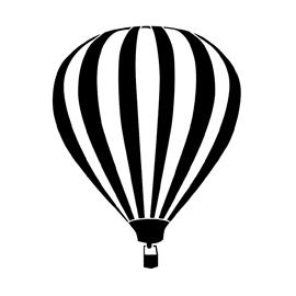 Hot Air Balloon Stencil Free Stencil Gallery