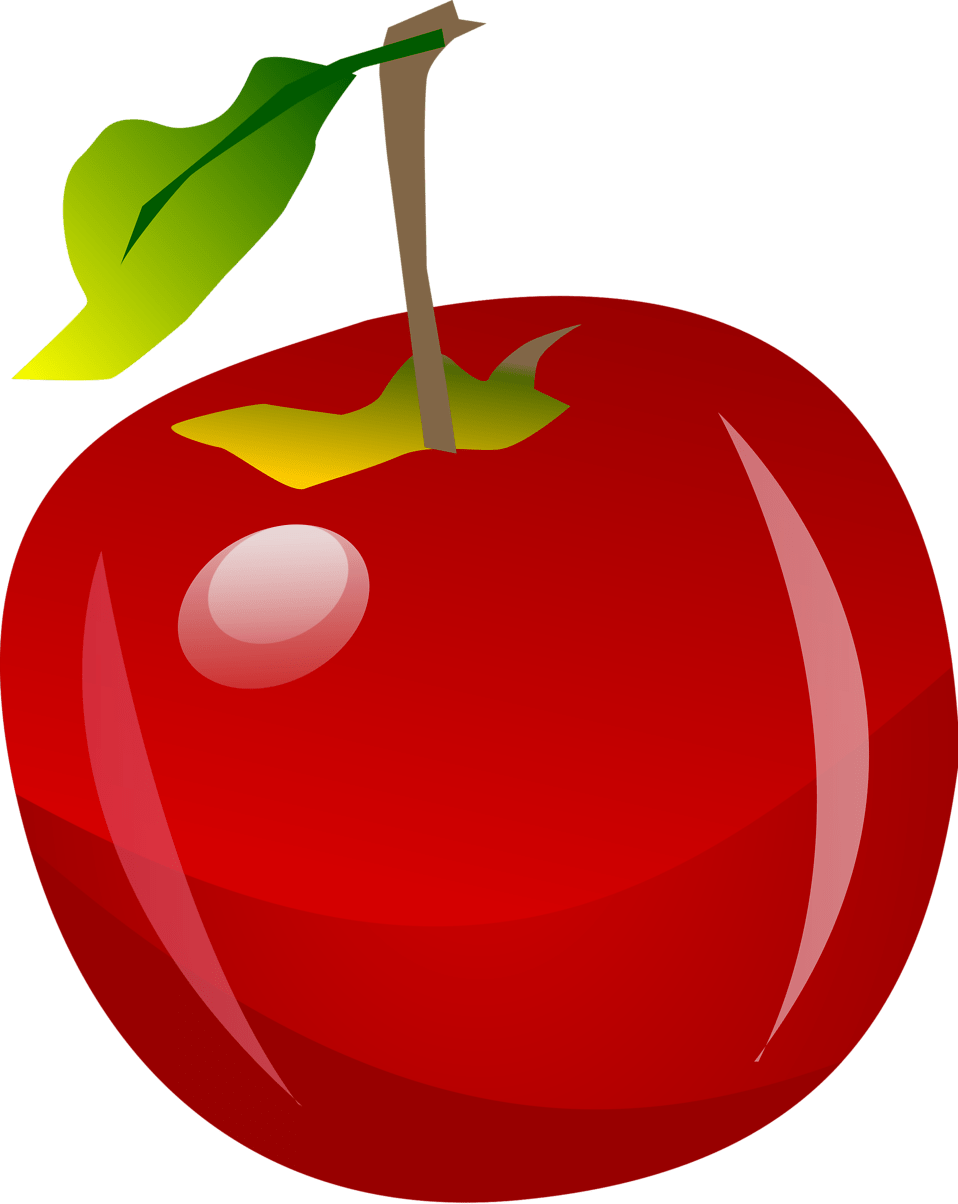 Image result for free clip art apple transparent