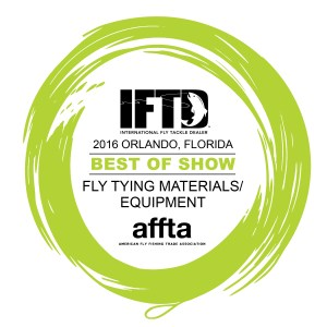 2016 IFTD best of show fly tying materials and equipment