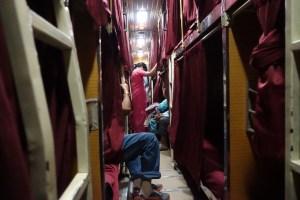 夜行寝台バス1