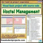 Hostel Management System in Visual Basic