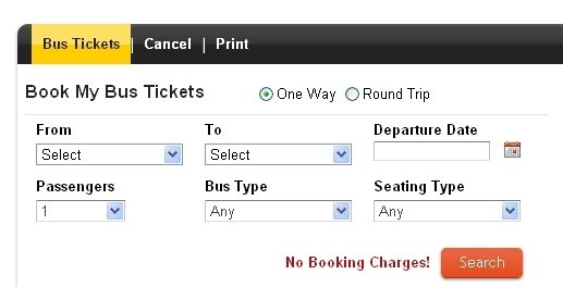 Bus Ticket Reservation System