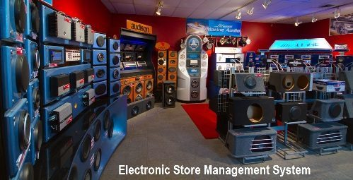 Electronic Store Management System Free Student Projects