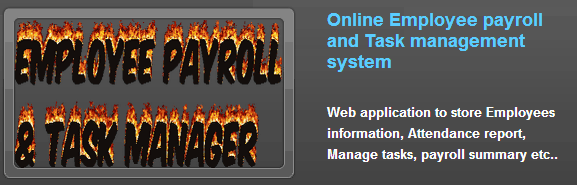 SRS of Employee payroll and Task Management System