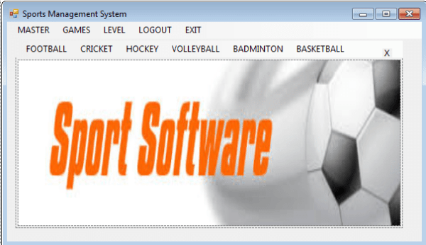 Sports Management System