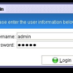 Library Management system login page