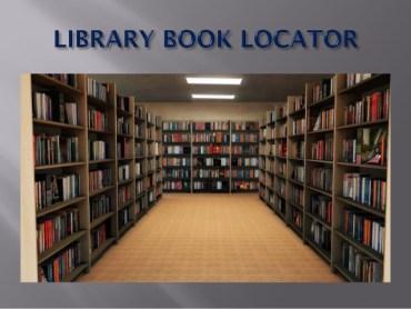 WI-FI Library Book Locator