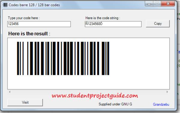VB.NET Barcode Generator