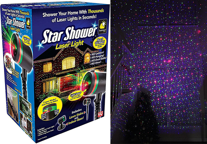 1998 Reg 40 Star Shower Laser Lights Projector Today