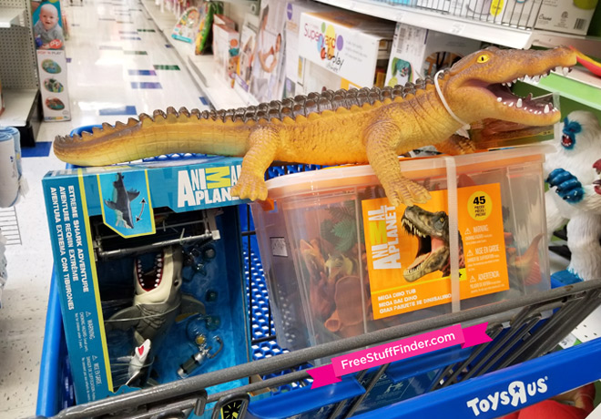 Image of: Gif Head Over To Toysrus Where You Can Save 30 Off Animal Planet Toys There Is Great Selection Of Cool Toys And You Can Also Score Free Shipping If You Free Stuff Finder 30 Off Animal Planet Toys At Toysrus