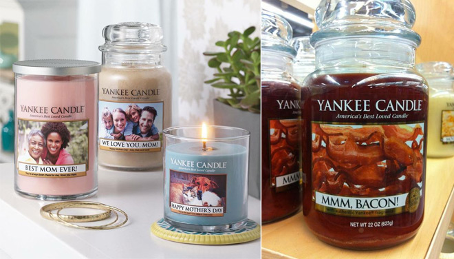 Personalized Yankee Candle Labels