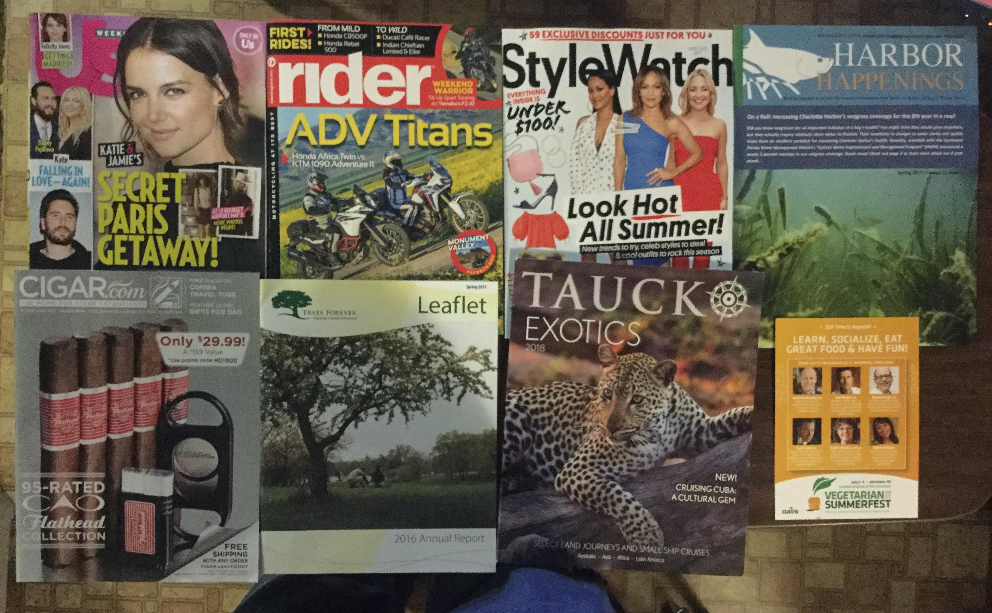 5 24 2017 Free Mail Us Weekly Rider