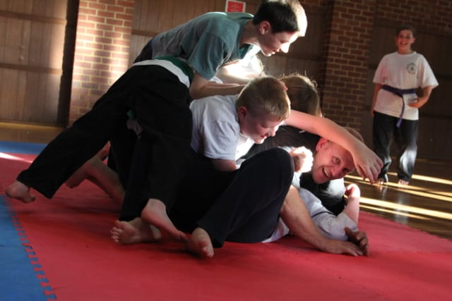 Shane Hume Grappling