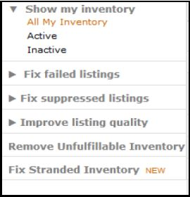 breakdown of amazons new manage inventory page
