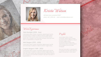 sophisticated lady cv template freebie the urbane woman