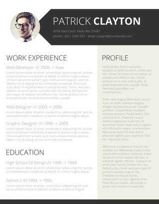 85 Free Resume Templates For Ms Word Freesumes. Cv Template For Word