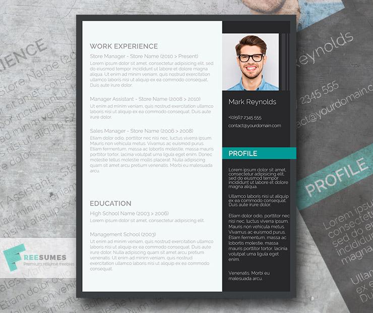 The Modern Professional A Free Ultra Creative Cv Template