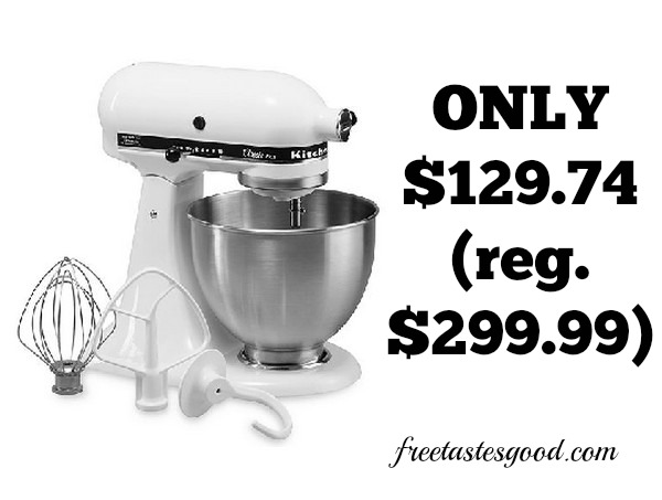 KOHLS KitchenAid KSM75 Classic Plus 45 Qt Stand Mixer