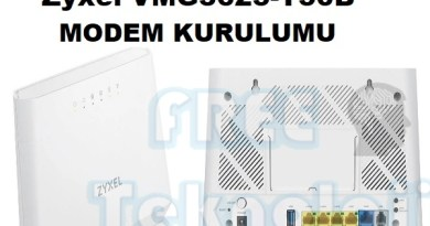 Zyxel VMG3625-T50B MODEM KURULUMU