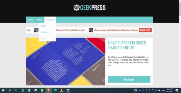 Geek-Press-Blogger-Template-Nulled-Free-Download