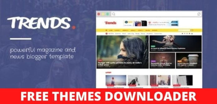 Trends-News-Magazine-Responsive-Blogger-Template-Download-Free