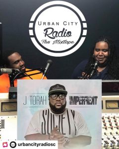 credit: @urbancityradiosc… Check us out this month as we chat with @whoisjtora…