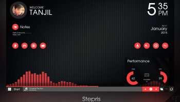 Monstercat Visualizer for Rainmeter - Realtime Audio Visualizer