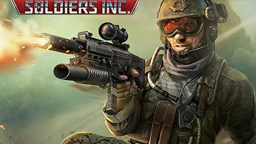 Soldiers Inc. - Um jogo MMORTS baseado em navegador 2D de cima para baixo, gratuito para jogar.