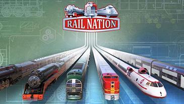 Rail Nation - Um jogo MMO de estratégia de simulação de trem 2D baseado em navegador, gratuito para jogar.