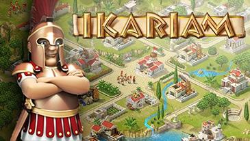 Ikariam - Um jogo de estratégia de construção de cidades baseado em navegador da GameForge.