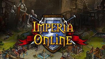 Imperia Online - MMORTS medievais baseados em navegador 2D, free-to-play, treina soldados e cria um império.