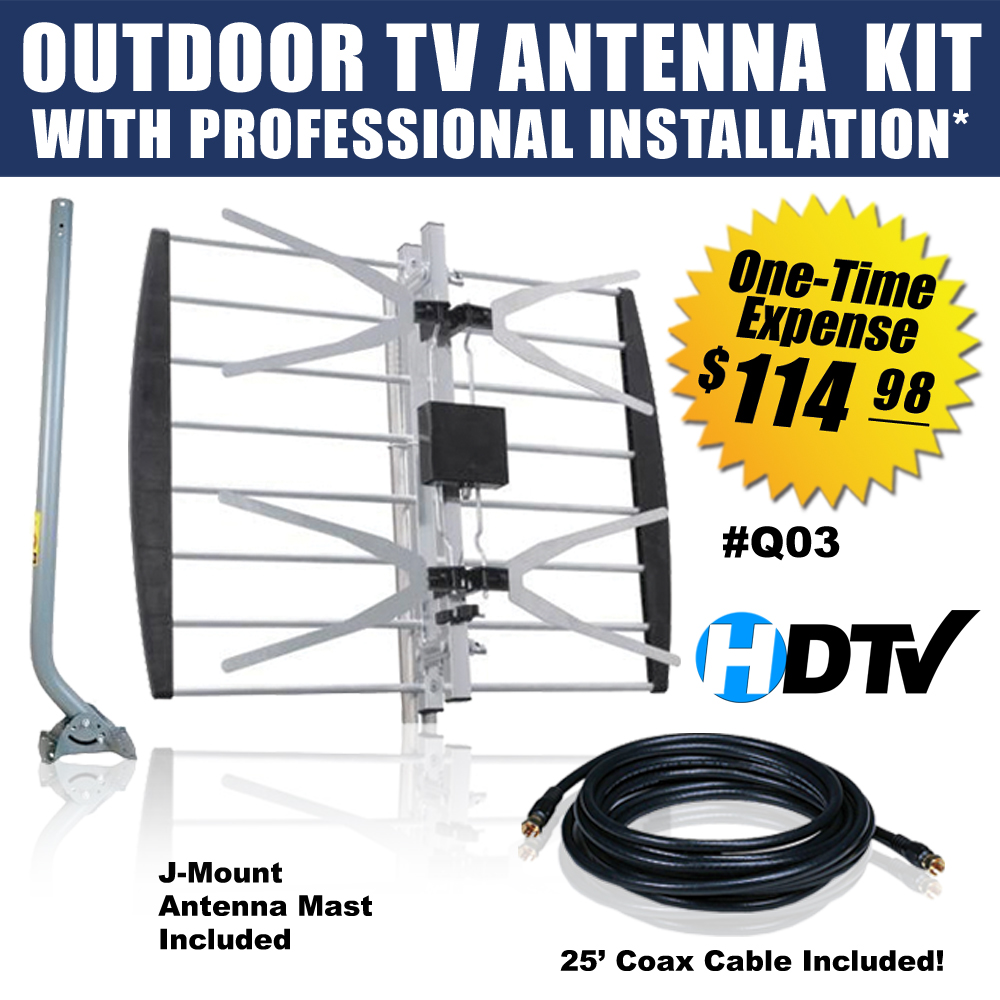 Cut The Cord Get Free Tv For Life Cable Wiring Installation
