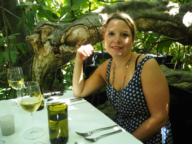 Lunch at the Enchanted Fig Tree