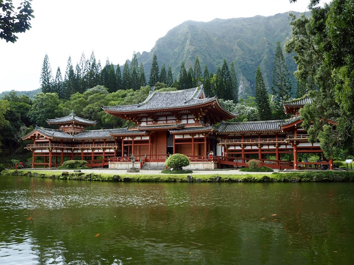 The beautiful Byodo Temple