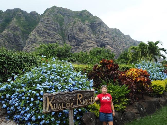Great view at Kuloa Ranch