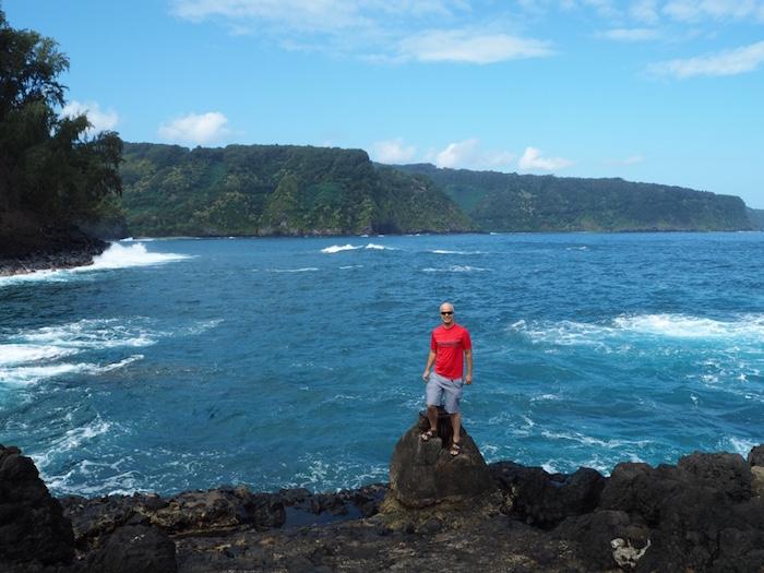 Beautiful view from the Keanae Peninsula