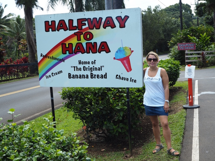 Stand half way to Hana. Gorgeous Banana bread!