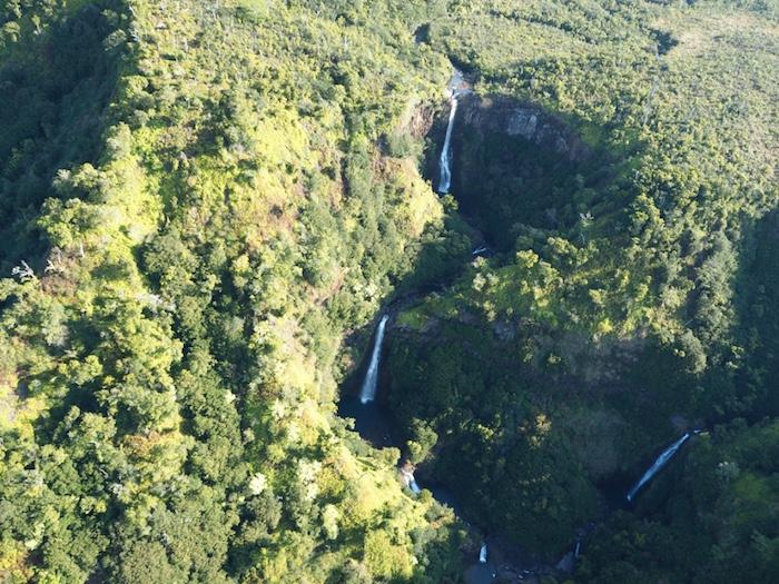Many waterfalls