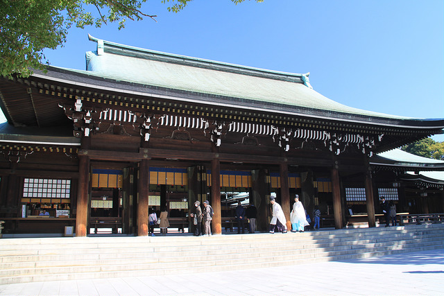 Main Hall of the Meiji Shrine