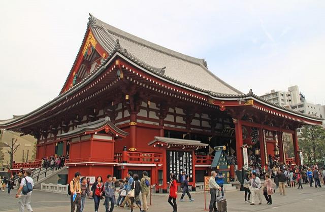 Senso-Ji's Kannondo Main Hall