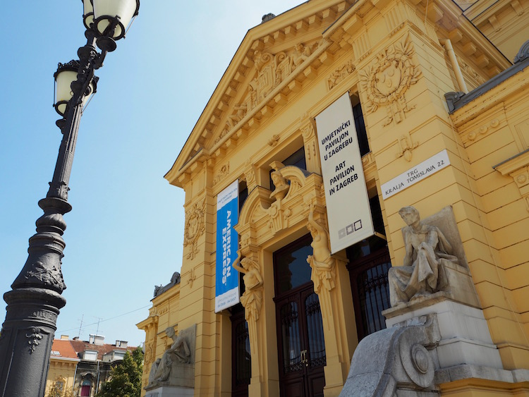 Zagreb's Art Pavillion