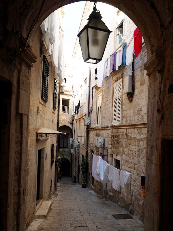 Getting lost in the narrow streets of the old town!