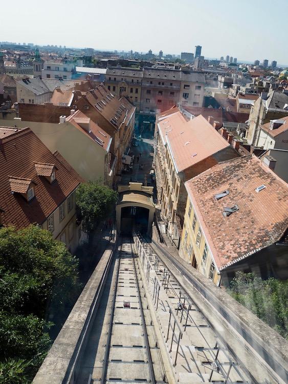 Zagreb's funicular