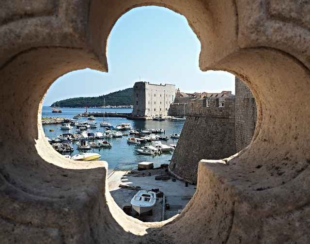 Dubrovnik's old port