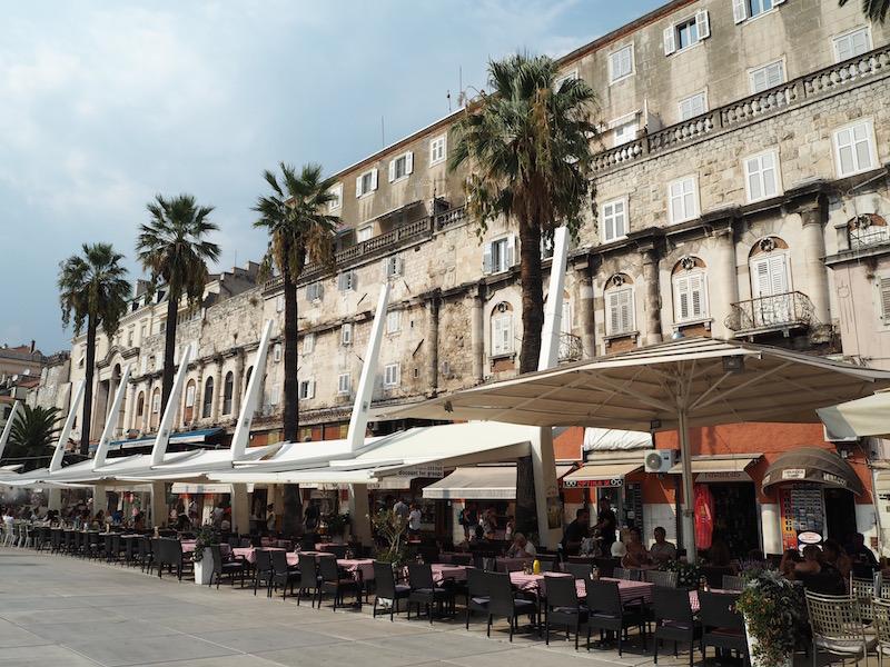 The Riva promenade
