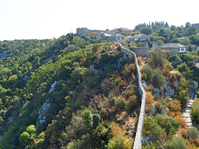 The old walls of Pocitelj
