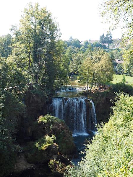 Waterfall in Radstoke