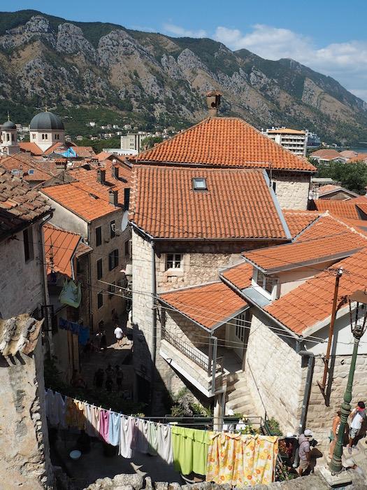 Laundry day in Kotor!