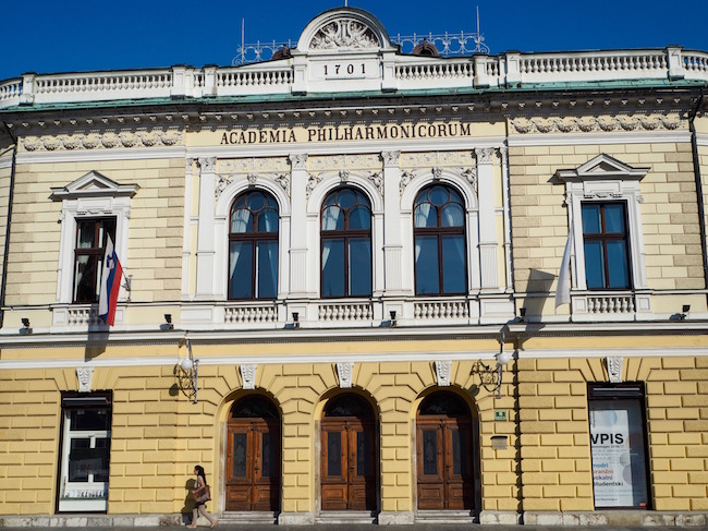 The Slovenian Philharmonic Hall