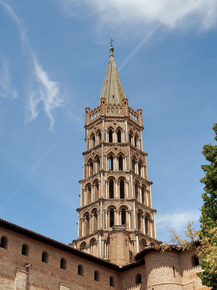 The tower of the Basilique St-Sernin